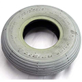 Tire 9X2 2.80/ Ribbed Gray