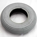 Tire Ribbed 8x2 Gray