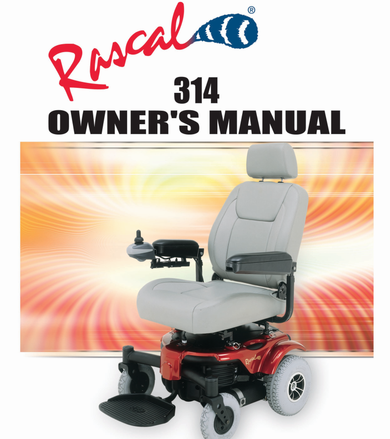 Rascal 314 Owner's Manual