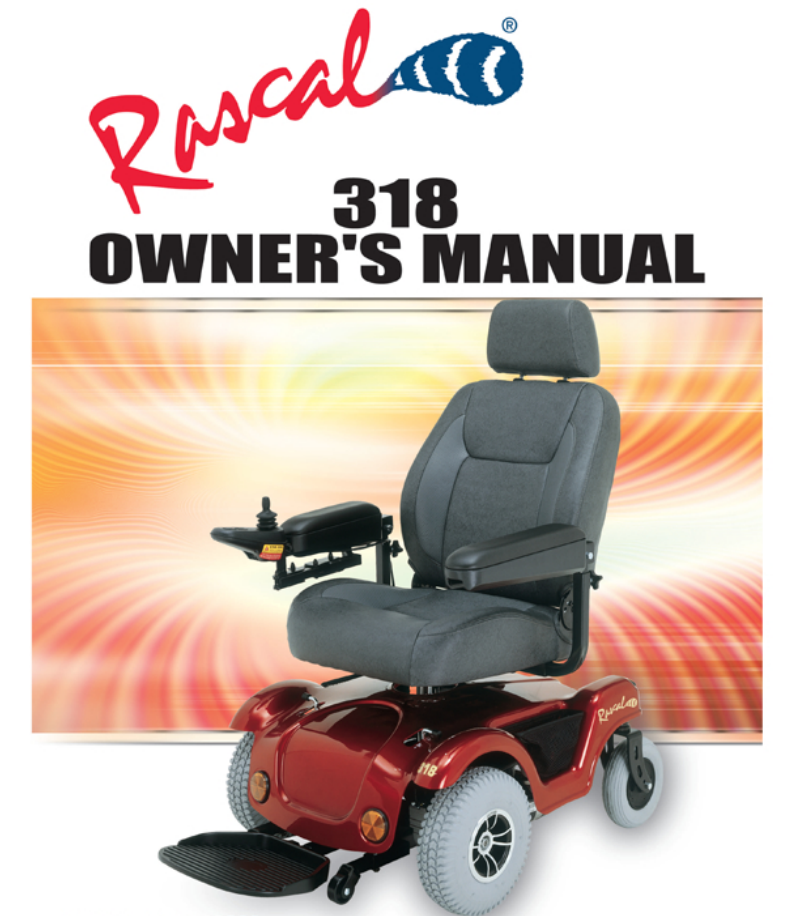 Rascal 318 Owner's Manual