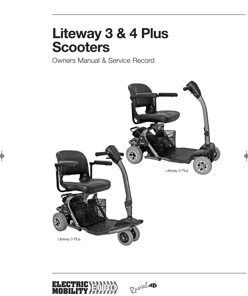 Liteway 3 & 4 Plus Owner's Manual