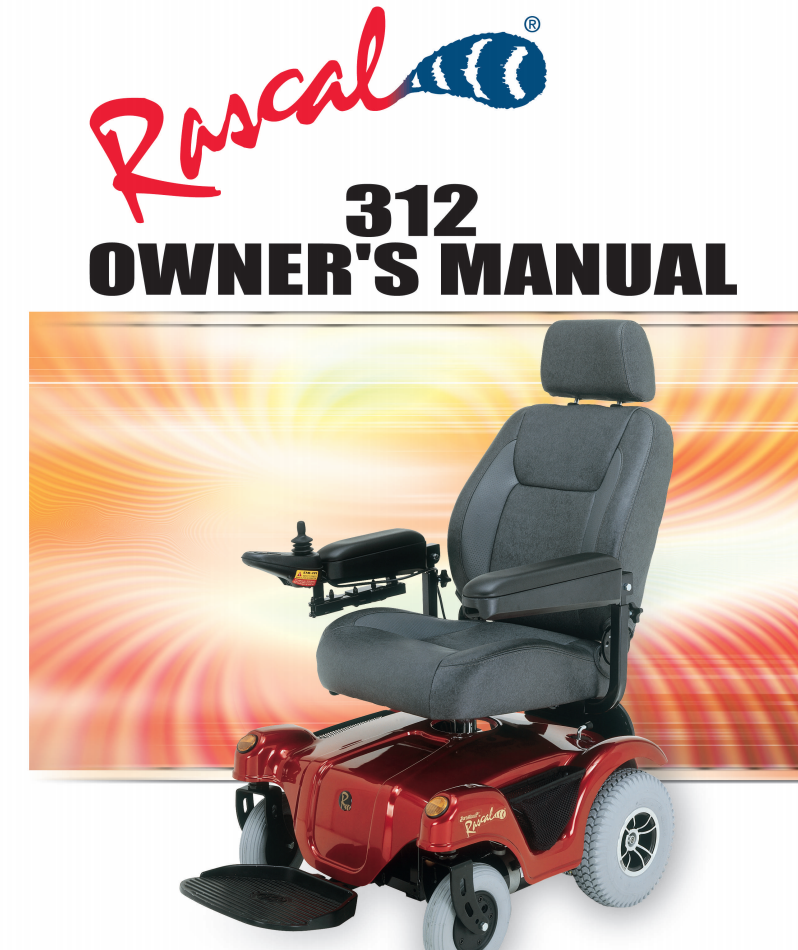 Rascal 312 Owner's Manual