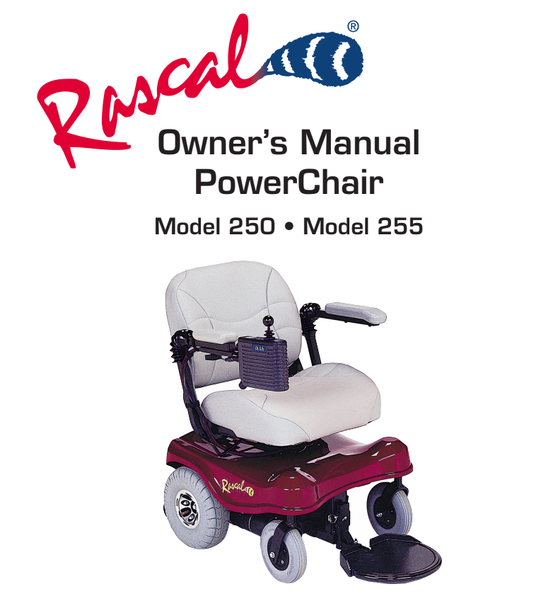 Rascal 250/255 Owner's Manual
