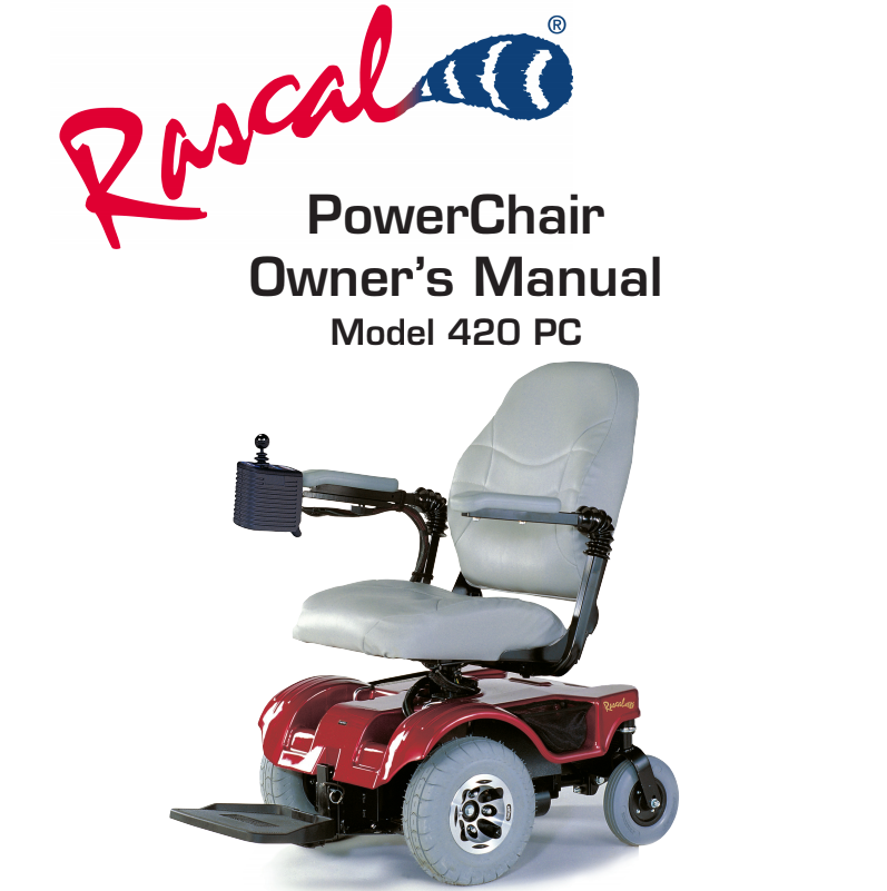 Rascal 420 PC Owner's Manual