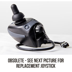Joystick for Powerchair with Seat Lift (Shark)